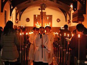 2012年クリスマスイヴ礼拝