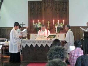 2011年9月11日震災3か月記念礼拝