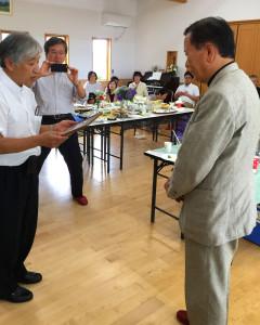 I2015年菅野さん感謝状贈呈