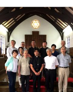2016年6月5日(東京教区8名)
